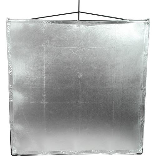 Matthews RoadFlag Fabric, Silver Lame 48x48