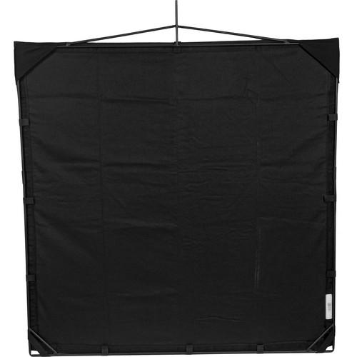 Matthews RoadFlag Fabric, Solid Black - 48x48