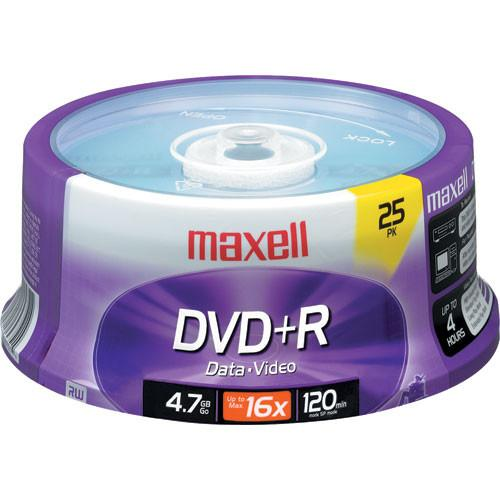 Maxell  DVD R 4.7GB, 16x Disc (25) 639011