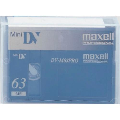 Maxell M-DV63PRO 63 Minute Mini DV Video Cassette 303140