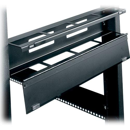 Middle Atlantic HHCM-2 2U Hinged Horizontal Cable Manager HHCM-2