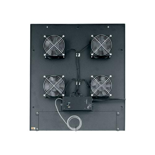 Middle Atlantic MW-4QFT-FC 200 CFM Integrated Fan Top MW-4QFT-FC