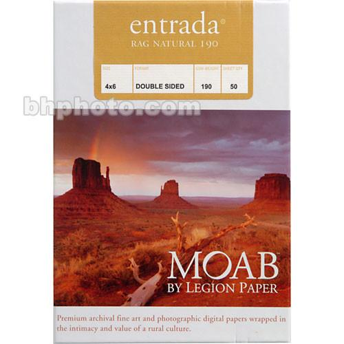 Moab Entrada Rag Natural 190 (Matte, 2-sided) R08-ERN1904650