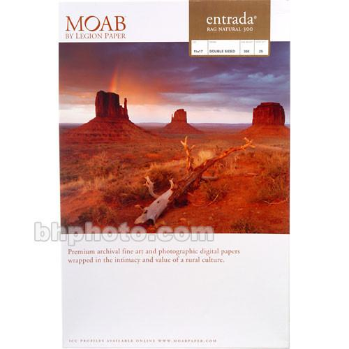 Moab Entrada Rag Natural 300 (Matte, 2-sided) R08-ERN300111725