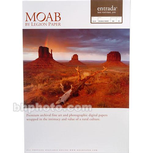 Moab Entrada Rag Natural 300 (Matte, 2-sided) R08-ERN300131925