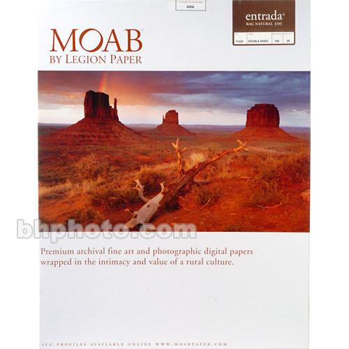 Moab Entrada Rag Natural 300 (Matte, 2-sided) R08-ERN300172225