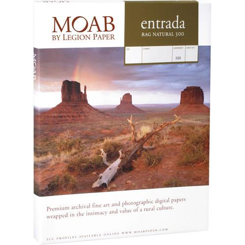 Moab Entrada Rag Natural 300 (Matte, 2-sided) R08-ERN300243025