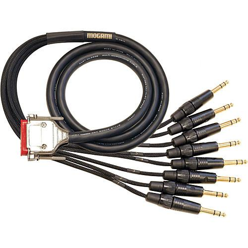 Mogami Gold 8 Channel Analog Snake Cable, DB-25 GOLD-DB25-TRS-20