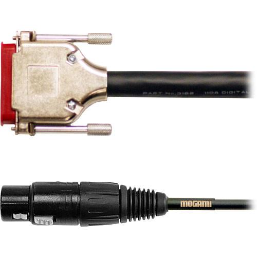 Mogami Gold AES/EBU DB-25 to 4 XLR Male GOLD-AES-DB25-XLR-20