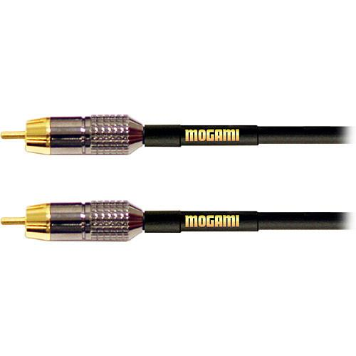 Mogami Gold RCA to RCA Mono Cable (12') GOLD RCA-RCA-12