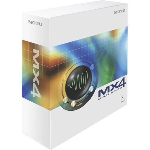 MOTU  MX4 Plug-In 7250, MOTU, MX4, Plug-In, 7250, Video