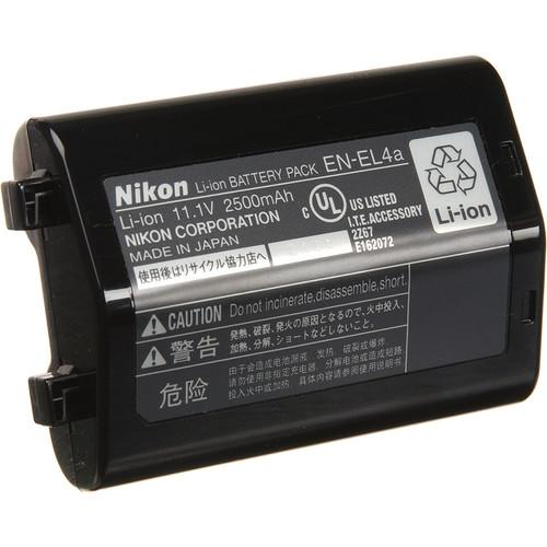 Nikon EN-EL4a Rechargeable Lithium-Ion Battery 25347