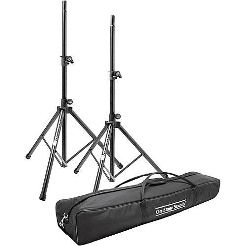 On-Stage SSP7950 Aluminum Speaker Stand Pak SSP7950