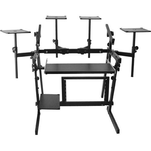 On-Stage WS8700 - Professional Audio Workstation Stand WS8700-B1