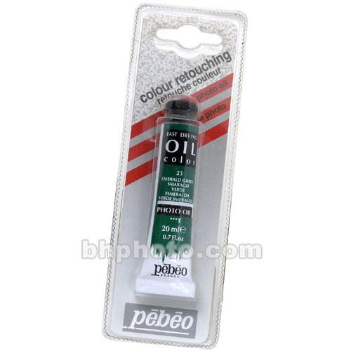 Pebeo Oil Color Paint: No.23 Emerald Green - 102780119