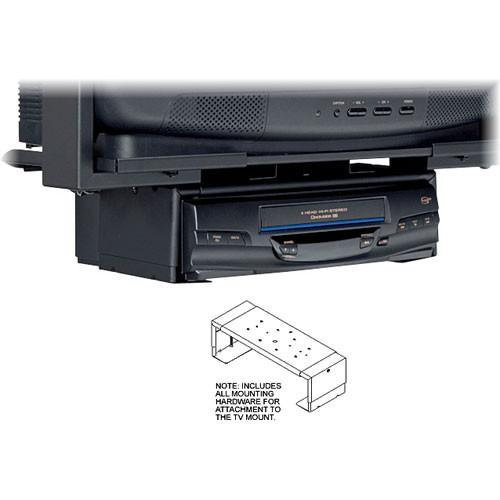 Peerless-AV Designer Series VCR Mount, Model DS25B (Black) DS25