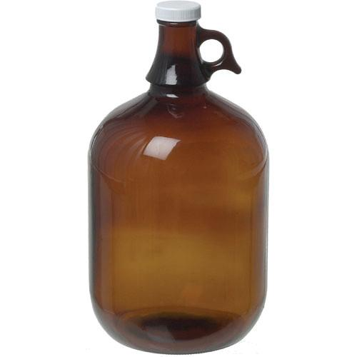 Photographers' Formulary Glass Storage Jug, Amber - 1 50-1220