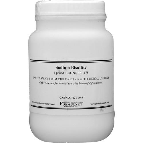 Photographers' Formulary Sodium Bisulfite - 1 Lb. 10-1175 1LB
