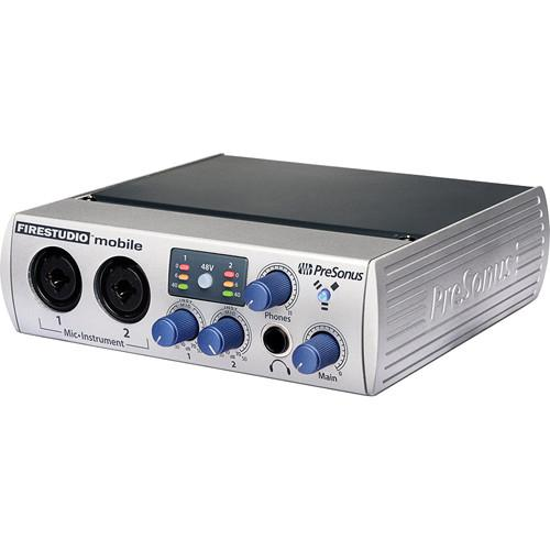 PreSonus FireStudio Mobile - 10 x 6 FireWire FIRESTUDIO MOBILE