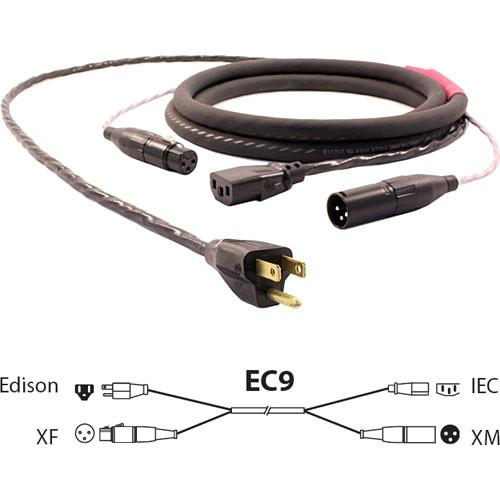 Pro Co Sound EC9 Siamese Twin AC & Audio Combo Cable EC9-75