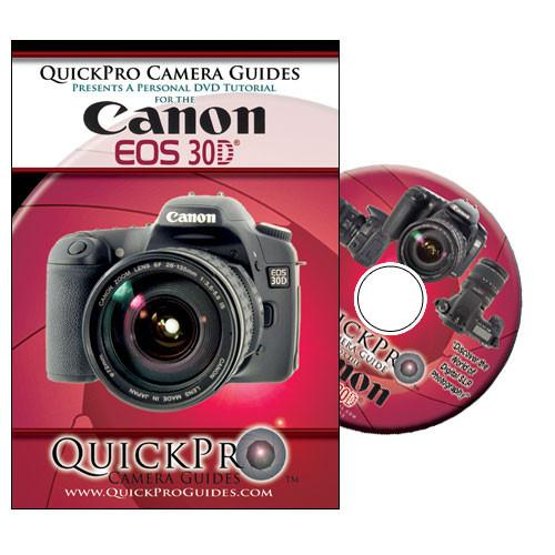 QuickPro DVD: Canon EOS 30D Digital SLR Camera 1062