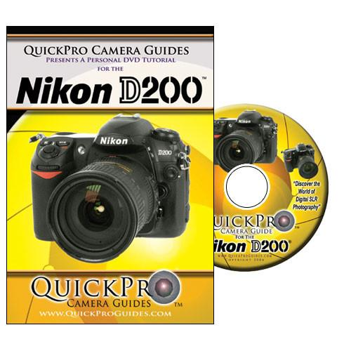 QuickPro  DVD: Nikon D200 Digital SLR Camera 1055