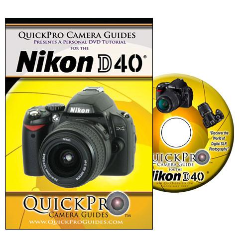 QuickPro  DVD: Nikon D40 Digital SLR Camera 1109
