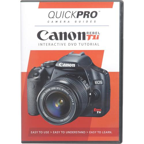 QuickPro  Training DVD: Canon EOS Rebel T1i 1314
