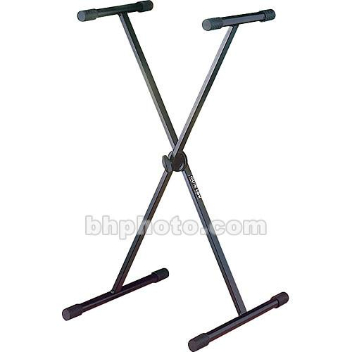 QuikLok T-10B Single-Tier Single-Brace Keyboard Stand T-10BK
