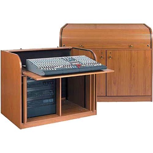 Raxxess Elite Roll Top Rack A/V Control Center, Model ERT-CHSD