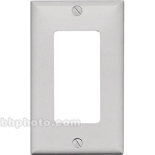 RDL  CP-1W Single Cover Wall Plate (White) CP-1