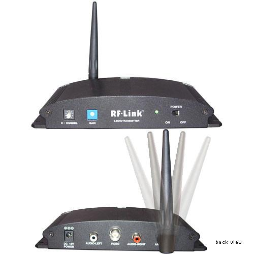 RF-Link AVS-5808 5.8GHz Wireless 8-Channel Indoor AVS-5808