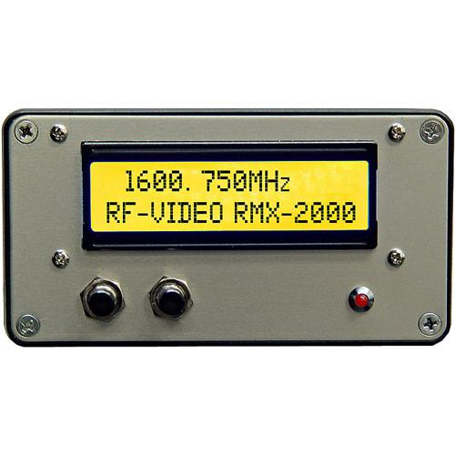 RF-Video RMX-2000 1600-2000 MHz Receiver with Digital RMX-2000