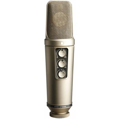 Rode NT2000 Variable Pattern Studio Condenser Microphone NT2000