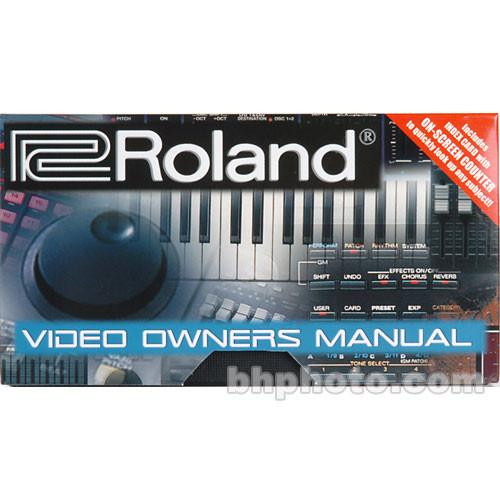 Roland MC-909VM - Video Owner's Manual for MC-909 MC-909VM