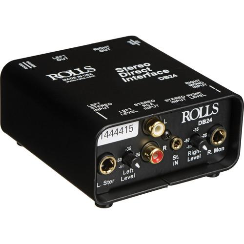 Rolls  DB24 - Stereo Direct Interface DB24
