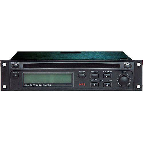 Rolls HR72 - Rack Mountable CD/MP3 Player (1RU High) HR72