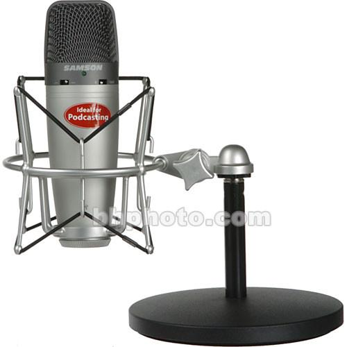 Samson C03U Recording and Podcasting Package SAC03UPK