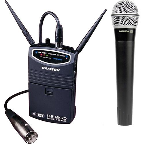 Samson UM1 Portable Handheld Wireless Microphone SW87SHQ7-N6