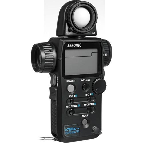 Sekonic L-758Cine DigitalMaster Light Meter 401-760