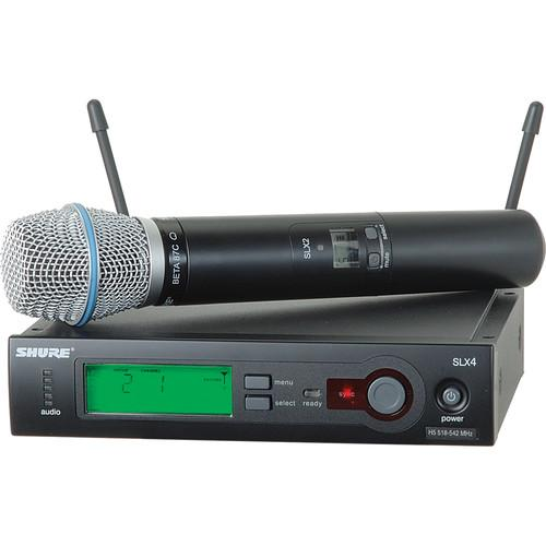 Shure SLX Series Wireless Microphone System SLX24/BETA87C-J3
