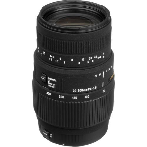 Sigma 70-300mm f/4-5.6 DG Macro Lens for Canon EOS 509101
