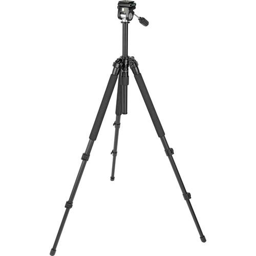 Slik Pro 330EZ Tripod with 2-Way Pan/Tilt Head (Black) 613-033