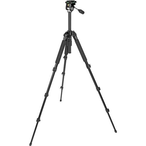 Slik Pro-340EZ Tripod with 2-Way Pan/Tilt Head 613-034