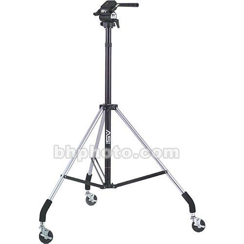 Smith-Victor Dollypod III Wheeled Tripod with 2-Way Head 700005