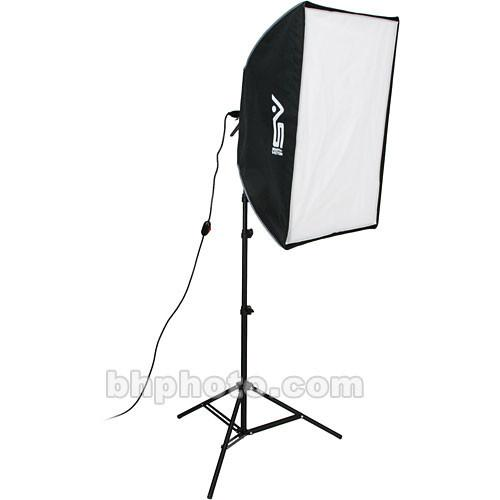 Smith-Victor KSBQ-1000 1,000 Watt Pro SoftBox Light Kit 408079
