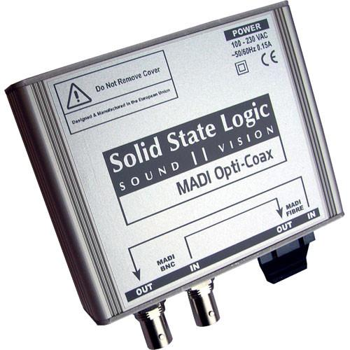 Solid State Logic MADI to Coax Converter 726906X2