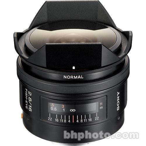 Sony 16mm f/2.8 Alpha A-Mount Fisheye Lens SAL16F28