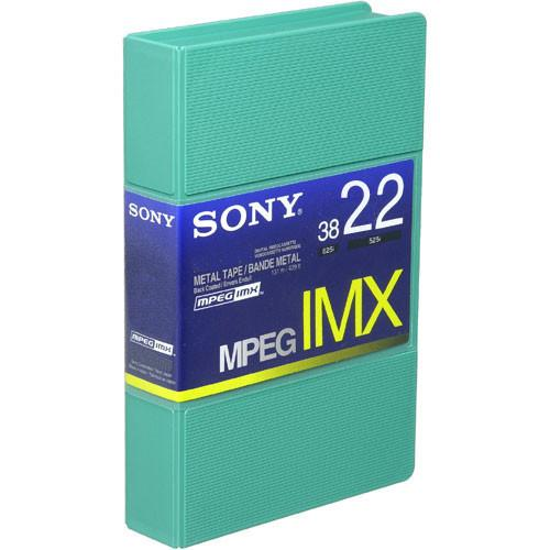 Sony BCT22MX MPEG IMX Video Cassette, Small BCT22MX