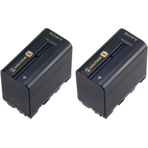 Sony NP-F970 L-series Info-Lithium Battery 2 Pack 2NPF970/B